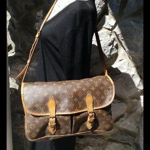 Lv Crossbody Messenger Bag